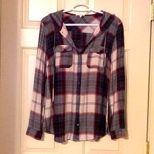 Maurices Hooded Tunic